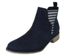 Chelsea Boots mit Streifendetail navy