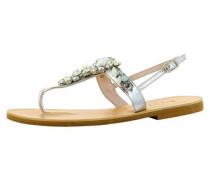 Damen Sandale silber