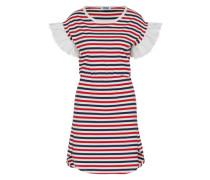 Kleid 'MC - Striped' blau / rot / weiß