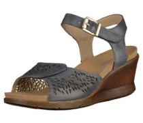 Sandalen taubenblau / braun