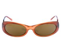 Sonnenbrille braun / orangerot