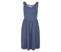 Jerseykleid blau