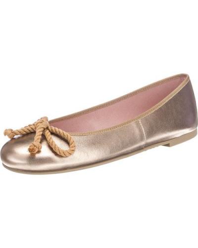 Ballerinas 'Ipnotic' mit Kordelschleife gold