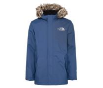 Jacke 'sherpa' blau