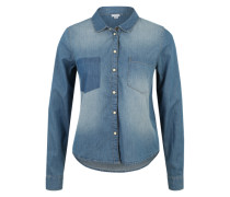Kurzes Jeanshemd blue denim