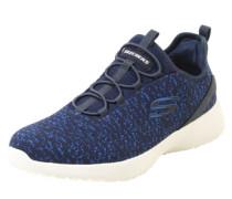Sneaker mit elastischer Schnürung navy