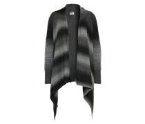 Strickjacke 'reika' grau / schwarz