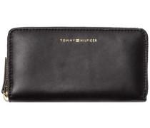 Geldbörse 'smooth Leather LRG ZA Wallet' schwarz