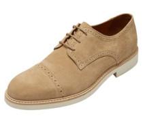 Wildleder-Schuhe beige