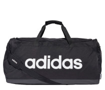 Duffelbag schwarz / weiß
