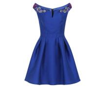 Kurzes Abendkleid blau