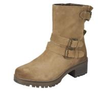 Leder Boots beige