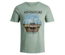 Roadtrip-T-Shirt grün
