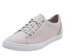 Denim-Sneaker 'Silvana Lace up' hellgrau