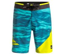 Boardshorts 'New Wave 19' blau / gelb