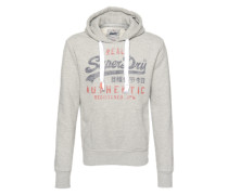 Sweater 'vintage Authentic Entry Hood' graumeliert