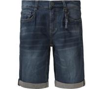 Jeansbermuda für Jungen Bundweite BIG blue denim
