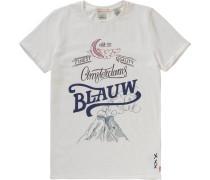 T-Shirt für Jungen naturweiß
