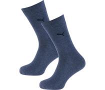 Socken taubenblau