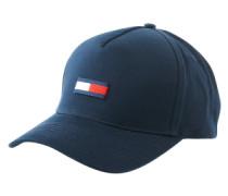 Cap mit Logo-Stitching blau