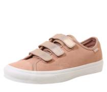 Sneaker mit Klettverschluss rosé / puder