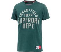 T-Shirt Herren petrol / jade / tanne