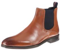 Chelsea Boots schwarz / cognac