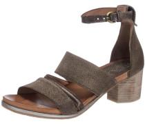 Sandaletten 'Swing' schlammfarben