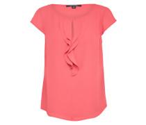 Unifarbene Bluse rosé