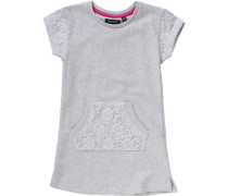 Kinder Sweatkleid grau