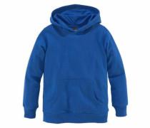 Kapuzensweatshirt blau