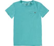 T-Shirt für Jungen türkis