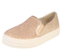 'double UP Shiny Dancer' Sneakers gold