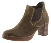 Ankle-Boots grün