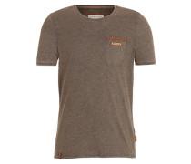 Male T-Shirt Suppenkasper IV braun