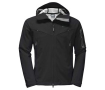 Softshelljacke 'gravity Flex Men' schwarz