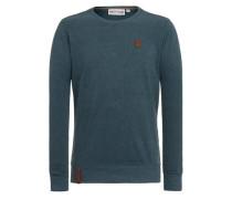 Male Sweatshirt 'Ich hab Augenbart Iii' grün