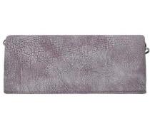 Ronja Clas 2D Clutch Umhängetasche 30 cm grau / rosa