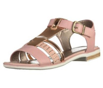 Sandalen bronze / rosa