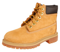 Schnürstiefel 'Premium Boot' gelb