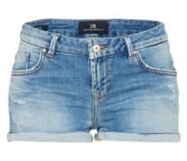 Knappe Used Shorts 'Judie' blue denim