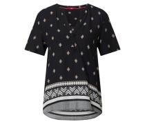 Bluse schwarz / mischfarben