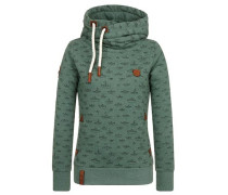 Female Hoody 'Stronger than ever' grün