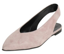 Schuhe Wildleder altrosa