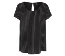 Blusenshirt 'Onlfirst' schwarz