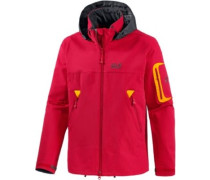 Muddy Track Softshelljacke Herren orange / rot