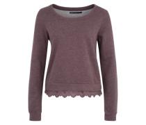 Sweatshirt 'ONLLacy' rot