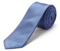Krawatte Seiden - blau