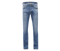 Skinny-Jeans 'Tilted Tor' blue denim