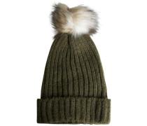 Bommel-Mütze khaki